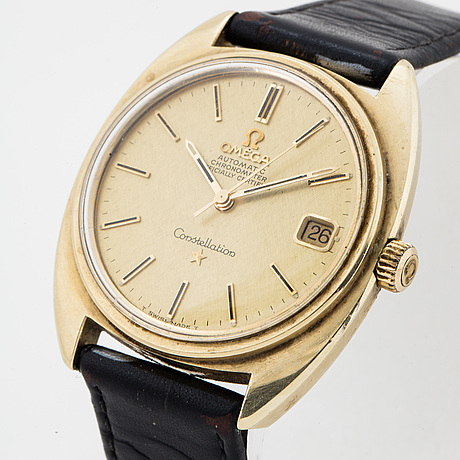 Omega, constellation, chronometer, wristwatch, 35 mm,