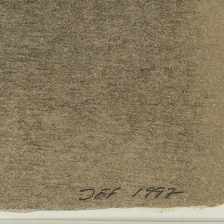 John-e franzÉn, lithograph in colours, 1997, signed 205/250.