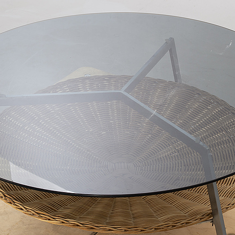 An 1960/70:s sofa table.