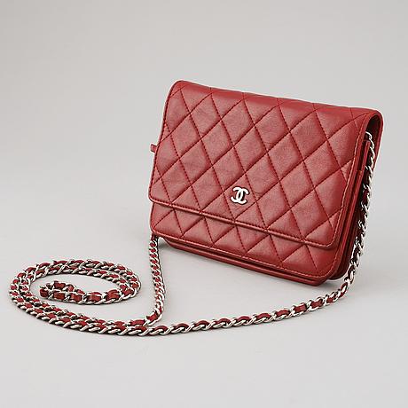 """Chanel, väska, """"wallet on chain"""", 2014."""
