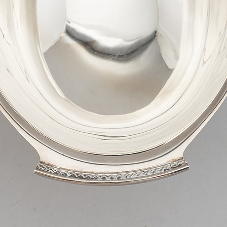 Vera ferngren, bowl, silver, gab, stockholm 1966.
