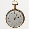 Pocket watch, chevaler et compagnie, turn of the century 1800, 52 mm.