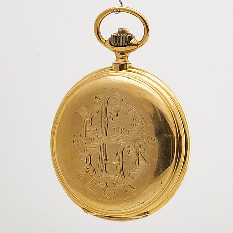 Pocket watch, hunter, gèneve schweiz, 54 mm.