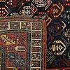 Matta kaukasisk semiantik galleri ca 282 x 106 cm.