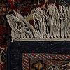 An old malajir carpet ca 360 x 248 cm.