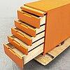 Alvar aalto, a model b96 chest of drawers, 1960/70s.