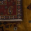 An old loribaf carpet ca 237 x 170 cm.
