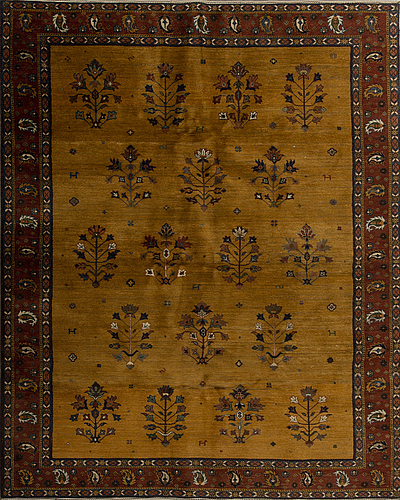 An old loribaf carpet ca 237 x 170 cm.