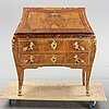An 18th century swedish rococo  secretaire attributed to christian gotthard wilkom (master in stockholm 1763-65 (69).