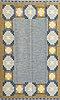 A carpet, flat weave, ca 232,5 x 165,5 cm, signed is (ingegerd silow).