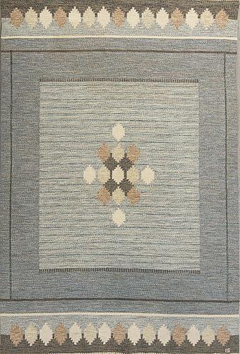 Ingegerd silow, matta rölakan ca 242 x 159 cm.