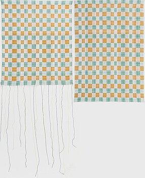 "ÅSA PÄRSON, ""Tofuku-ji"", weaving two pieces, 2020."