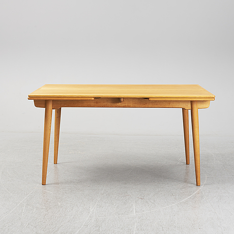 Hans j wegner, a model 'at-312' table, andreas tuck, denmark.