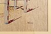 Stellan mÖrner, watercolour signed.