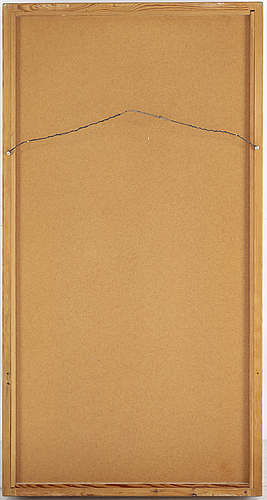 Spegel, troligen sven larsson möbelshop, 1900-talets andra hälft.
