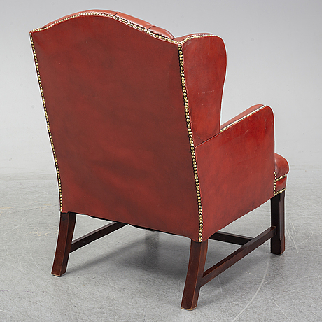 A armchair from the second half of the 20th century.