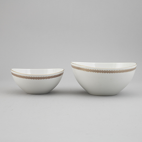 A 'elegance' part dinner service, from rörstrand, 20th century (58 pieces).