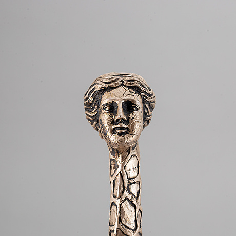 Salvador dalÍ, silver patinated bronze, marked dali and numbered 830/1000.