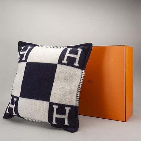 """HermÈs, """"avalon"""" cushion."""
