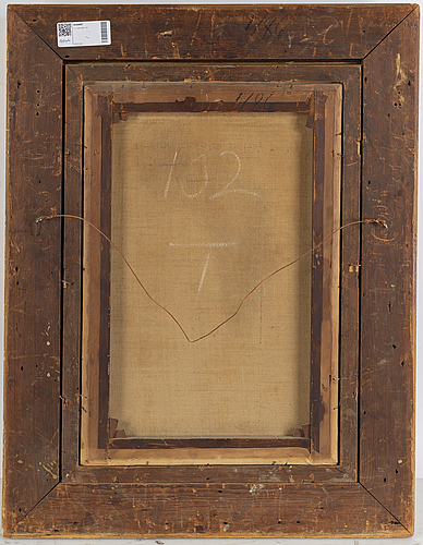 Charles sillem lidderdale, olja på duk, signerad med monogram csl och daterad 69.