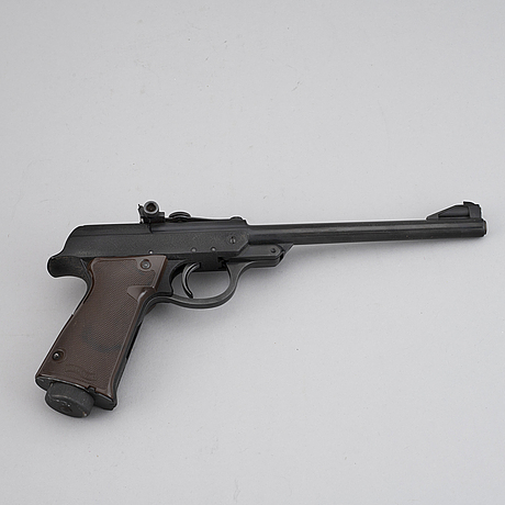 A walther lp 53 air gun. in production 1953-1976.
