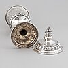 M.w rothoff, pokal med lock, silver, uppsala 1903.