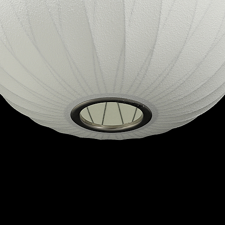 """A hay nelson bubble lamps """"ball"""", design george nelson, modernica, los angeles, 2014."""