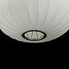 "Pendellampa, ""ball"", hay nelson bubble, design george nelson, modernica, los angeles, 2014."
