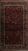 An old isfahan carpet ca 350 x 246 cm.