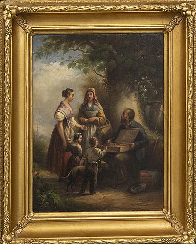 OkÄnd konstnÄr 1800-tal , oil on canvas/panel.
