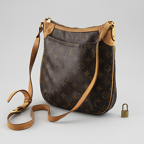 "Louis vuitton, väska ""odeon pm""."