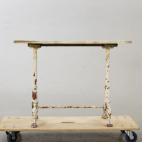 CafÉbord, omkring 1900.