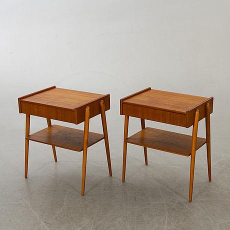 SÄngbord ett par 1960-tal.