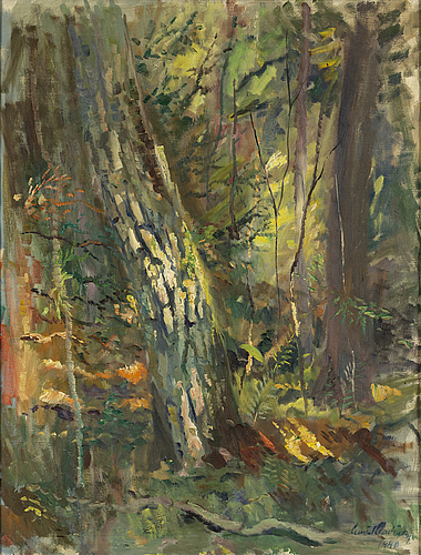 Gustaf carlstrÖm, oil on canvas, signed and dated 1940.