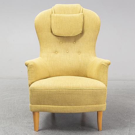 A carl malmsten ' farmor' chair.
