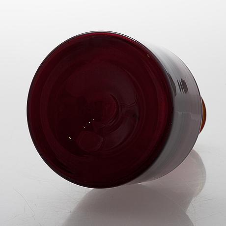 Tapio wirkkala, pullo, iittala, signeerattu tapio wirkkala i 408.