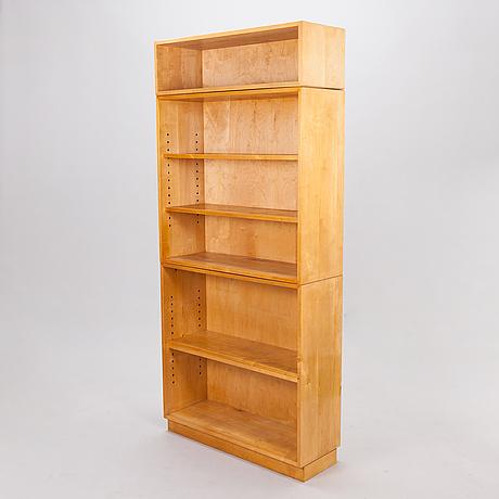 Aino och alvar aalto, bokhylla, 3 moduler, artek 1940-tal.