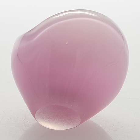 A vase by kaj franck, signed k. franck iittala.