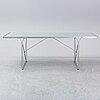 """An ikea """"moment"""" table, niels gammelgaard 1985."""