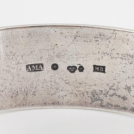 An astrid aagesen silver bangle.