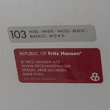 """Arne jacobsen, skrivbordsstol, """"sjuan"""", republic of fritz hansen, danmark."""
