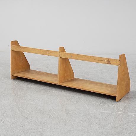 Hans j wegner, wall shelf, ry möbler, denmark.