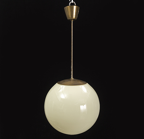A mid-20th century ceiling light.