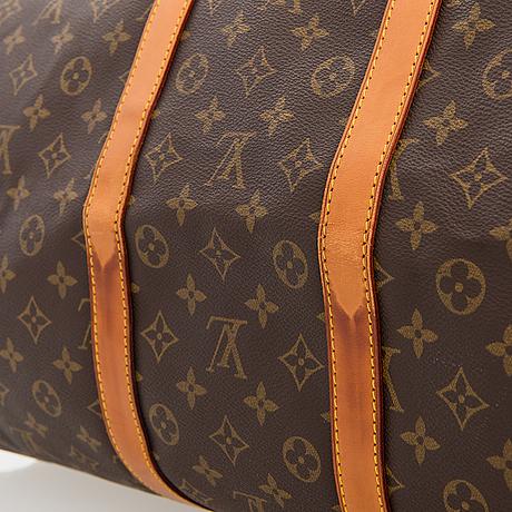 Louis vuitton monogram keepall 55 bag.