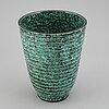 """Wilhelm kÅge, an """"argenta"""" stoneware vase, gustavsberg sweden."""