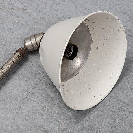 "Johan petter johansson, industry style lamp, ""triplex"", asea, 1900-talets mitt."