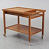 A 'boy' teak drinks trolley from ds-möbler, 1950's/60's.