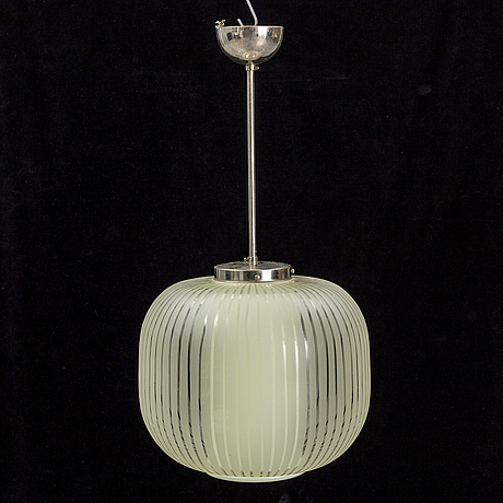 A 1940s/1950s ceiling light.