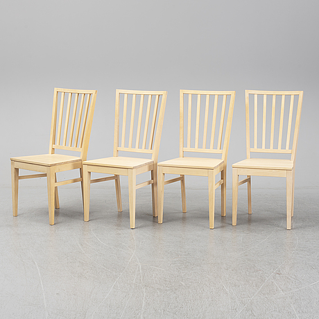 "Four g.a.d chairs ""fröjel""."