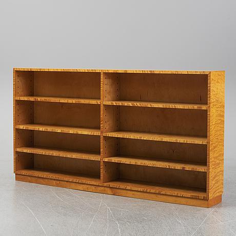 A 1940s birch veneered shelf.